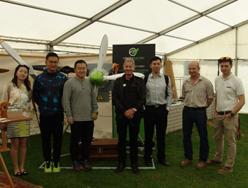 Visit from a major Chinese Investment Group